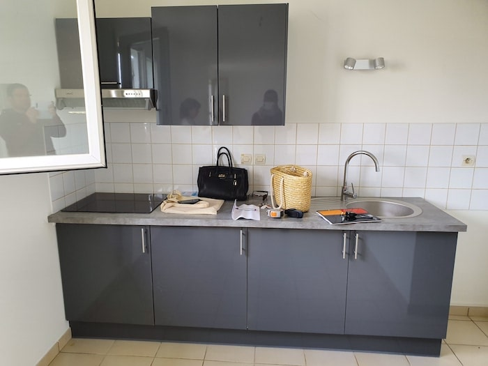 Etat de la cuisine avant rénovation