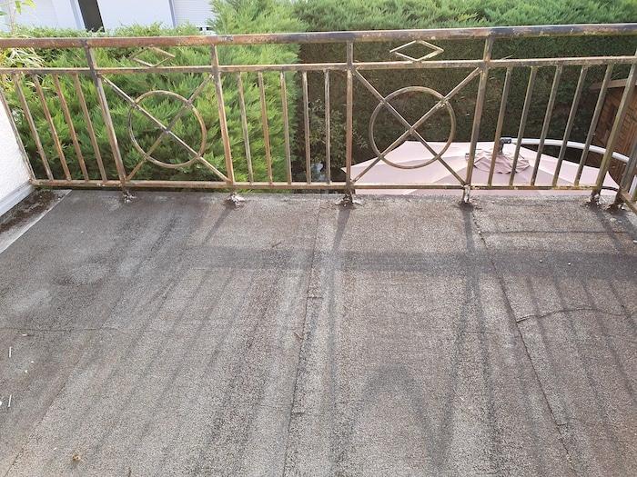 Etat du balcon avant revetement