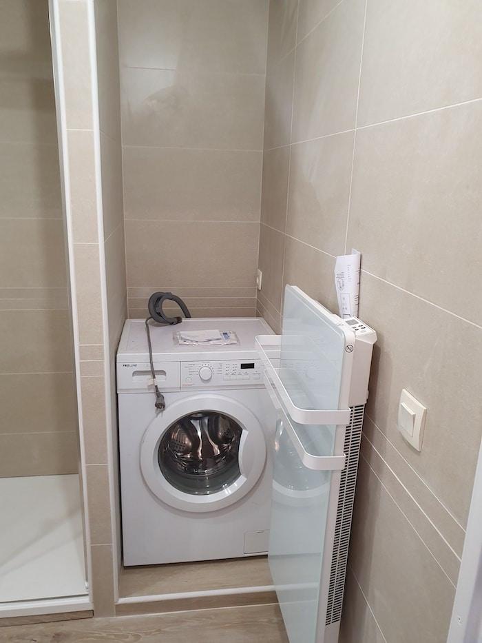 Espace machine à laver Salle de Bain Bordeaux