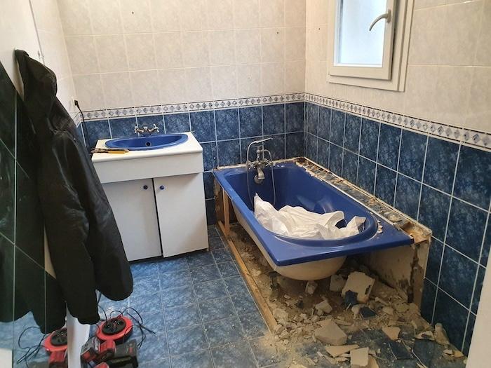 Renovation salle de bain a Marcheprime par JS Carrelage 3